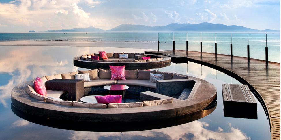 h tel w retreat koh samui voyage thailande idiliz. Black Bedroom Furniture Sets. Home Design Ideas