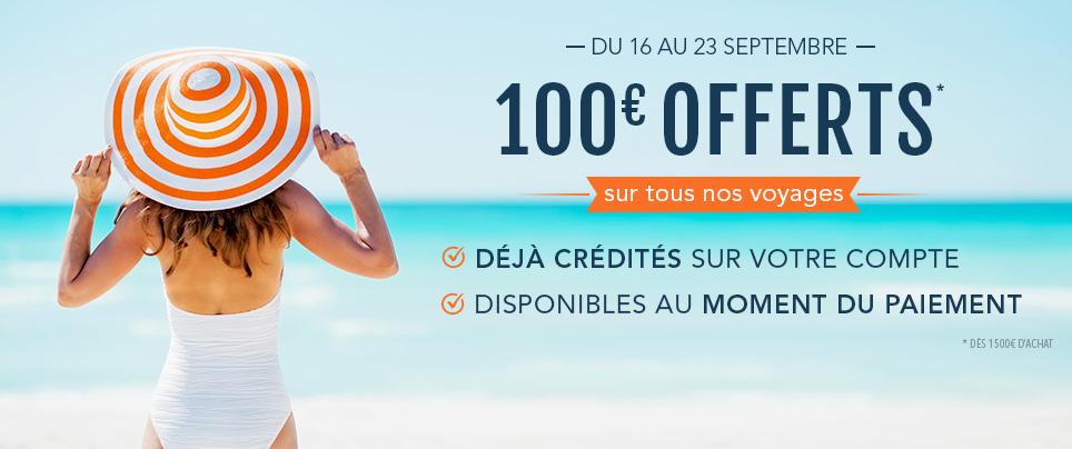 100e offerts - 16-09