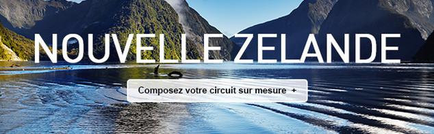 Circuit sur mesure en Nouvelle Zélande