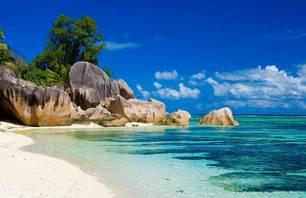 Combiné deux îles : Praslin et Mahé