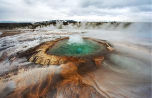 Vues Volcaniques & Aurores Boréales