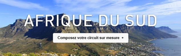 Circuit sur mesure en Afrique du Sud