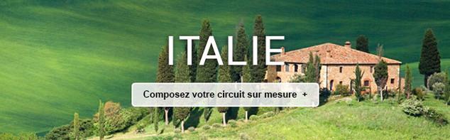 Circuit sur mesure en Italie