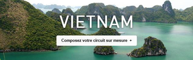 Circuit sur mesure au Vietnam