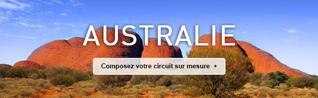 Circuit sur mesure en Australie